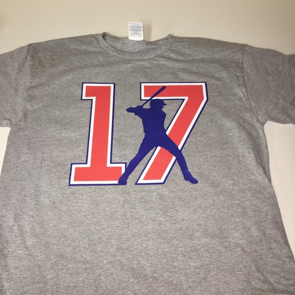 the latest f6ba2 7f3be Chicago Cubs Kris Bryant Shirt